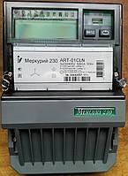 Электросчетчики Меркурий 230 ART-01 CLN 3*230/380В 5-60А с PLC модемом трехфазные многотарифные