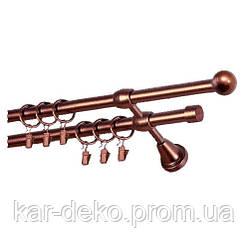 Карниз металлический  PLASTIDEA Куля