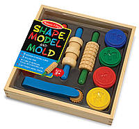 Набор пластилина для лепки Melissa & Doug - Лепите, творите, играйте (MD10165)
