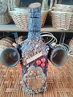 Ручные бутылки из декоративного камня 0,5 л, фото 1