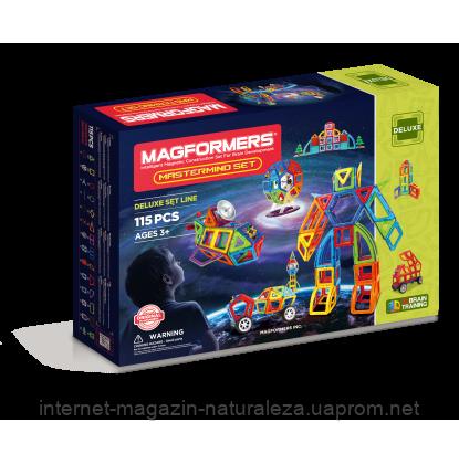 Магнитный конструктор Magformers Мастер 115 элементов, фото 2