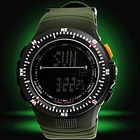 Наручные часы Skmei Carbon 0989 green