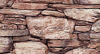 Обои влагостойкие мойка Скала 113-01 коричневый