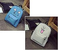 Рюкзак большой школьный подростковый мультяшка.