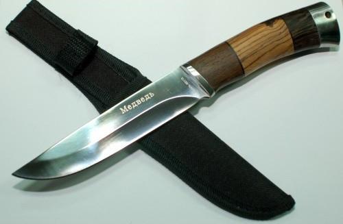 Туристический нож Boda FB 66, с фиксированным клинком.