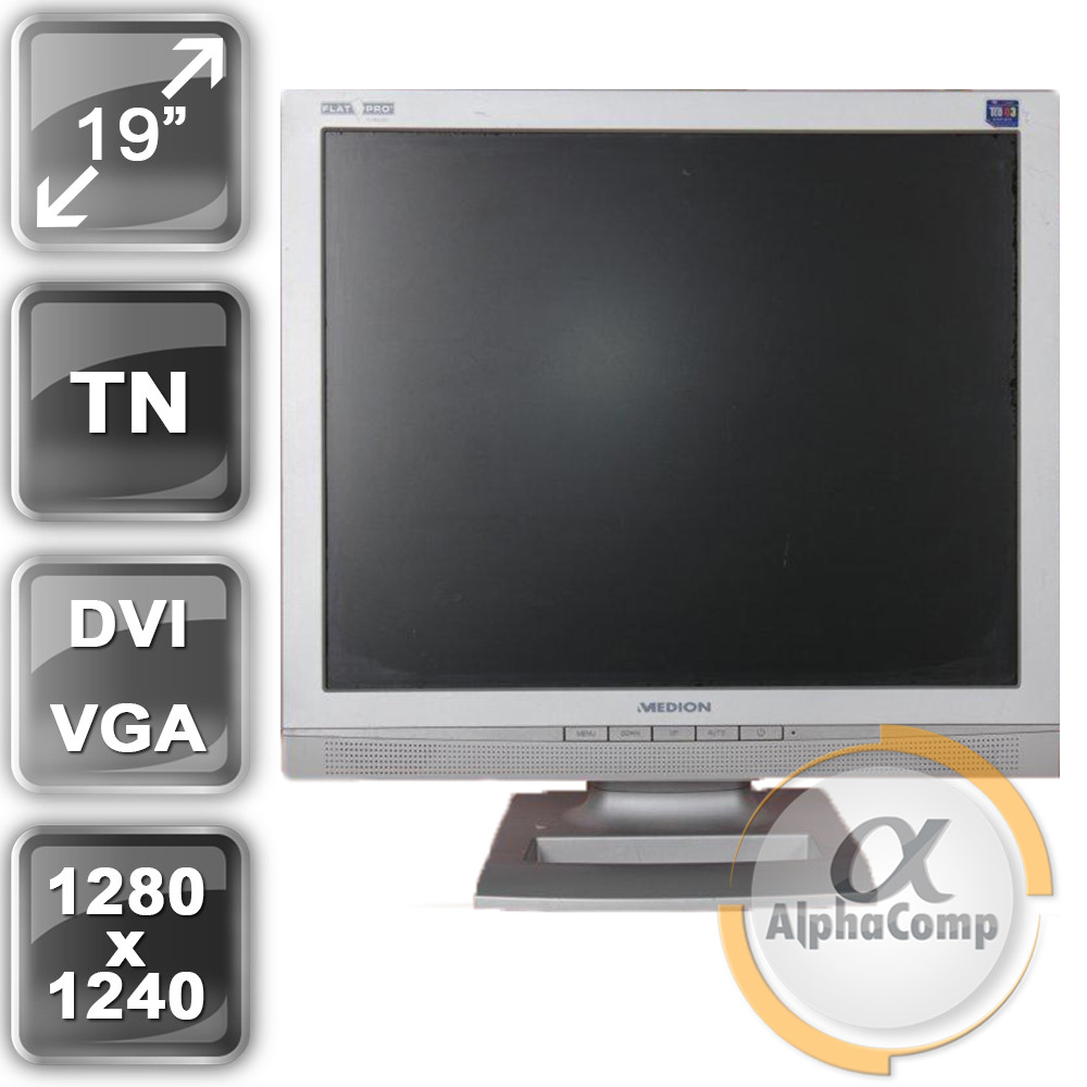 "Монитор 19"" Medion MD32119PR (4:3/DVI/VGA/колонки) class A БУ"