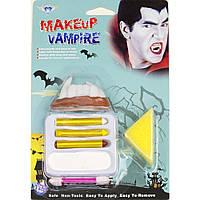 Грим-карандаш с клыками Дракулы - палитра красок для вашего образа!