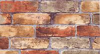 Обои влагостойкие мойка Лофт 114-01 красно-коричневый, фото 1