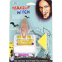 Грим-карандаш с носом Ведьмы - палитра красок для вашего образа!