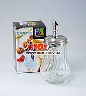 Сахарница с дозатором стеклянная Empire EM-9524