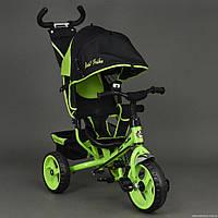 Детский трехколесный велосипед Best Trike 6570 c колесами пена.