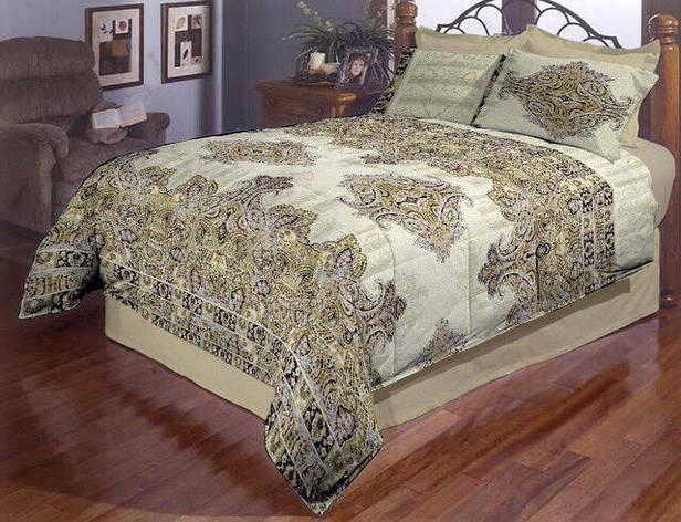 Постельное белье двуспальное Орнамент Gold, фото 2