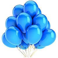 """Воздушные шары латексные, пастель цвет голубой 8""""(21 см)Италия"""