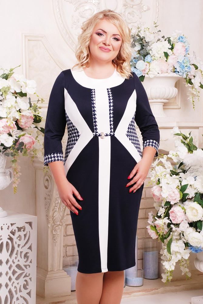 Элегантное платье 52,54,56,58,60,62