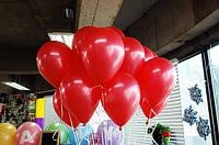 """Воздушные шары 100 шт латексные, цвет красный 8""""(21 см)Италия"""