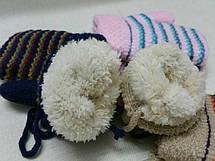 Детские зимние варежки , фото 2