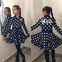 "Платье на девочку Сердце № 676 ""Style"" mari"