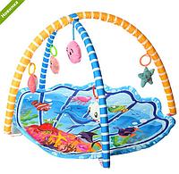 Детский развивающий коврик для младенца Bambi 518-20