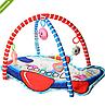 Детский развивающий коврик для младенца Bambi 518-21