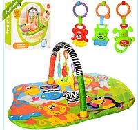 Детский развивающий коврик для младенца Bambi JJ8824