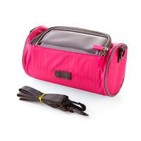 Сумка-органайзер на руль велосипеда (розовый)