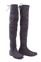Женские сапоги, ботфорты по доступной цене на низком ходу