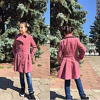 Пальто кашемировое на девочку № 673 mari