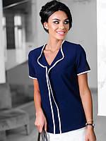 Женская  блузка короткий рукав размеры 42-50