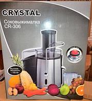 Электрическая соковыжималка CRYSTAL CR-306