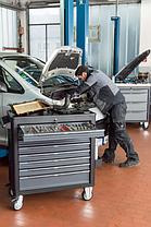 Тележка с базовым ассортиментом инструмента для VW и AUDI, VIGOR, V4497, фото 2