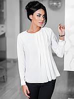 Женская красивая блузка длинный рукав