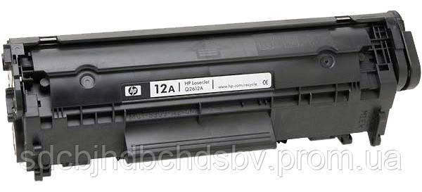 Картридж HP 12 Q2612A для принтера HP LJ 1010, 1012, 1015, 1018, 1020, 1022, 3015, 3020, 3030, 3050