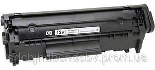 Картридж HP 12 Q2612A для принтерів HP LJ 1010, 1012, 1015, 1018, 1020, 1022, 3015, 3020, 3030, 3050