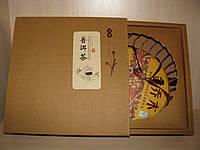 Китайский чай в подарочной упаковке (пуэр в подарочной упаковке. Блин весом 357 г)