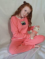 Костюм домашній з розписом ручної роботи  Пижама персиковая, синяя и серая