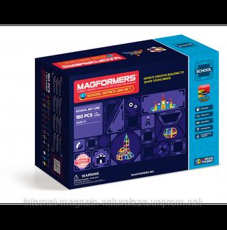 Магнитные конструкторы ТМ Magformers Школьный набор 180 элементов, фото 2