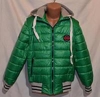 Демисезонная детская куртка- жилетка Sport Style на мальчика Размеры 134- 152