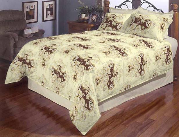 Постельное белье двуспальное Букет Gold, фото 2