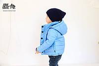 Демисезонная куртка на мальчика ( голубая )