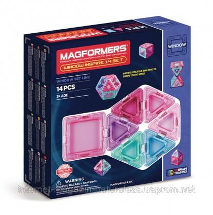 Конструктор магнитный Magformers Супер 3Д Вдохновение 14 элементов