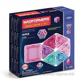 Конструктор магнитный Magformers Супер 3Д Вдохновение 14 элементов, фото 2