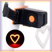 """Фонарь велосипедный аккумуляторный X3 """"STOP"""" (красный) micro USB"""