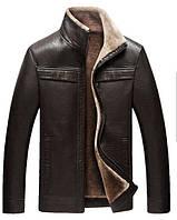 Куртка  на овчине.Натуральная кожа.Большие размеры.