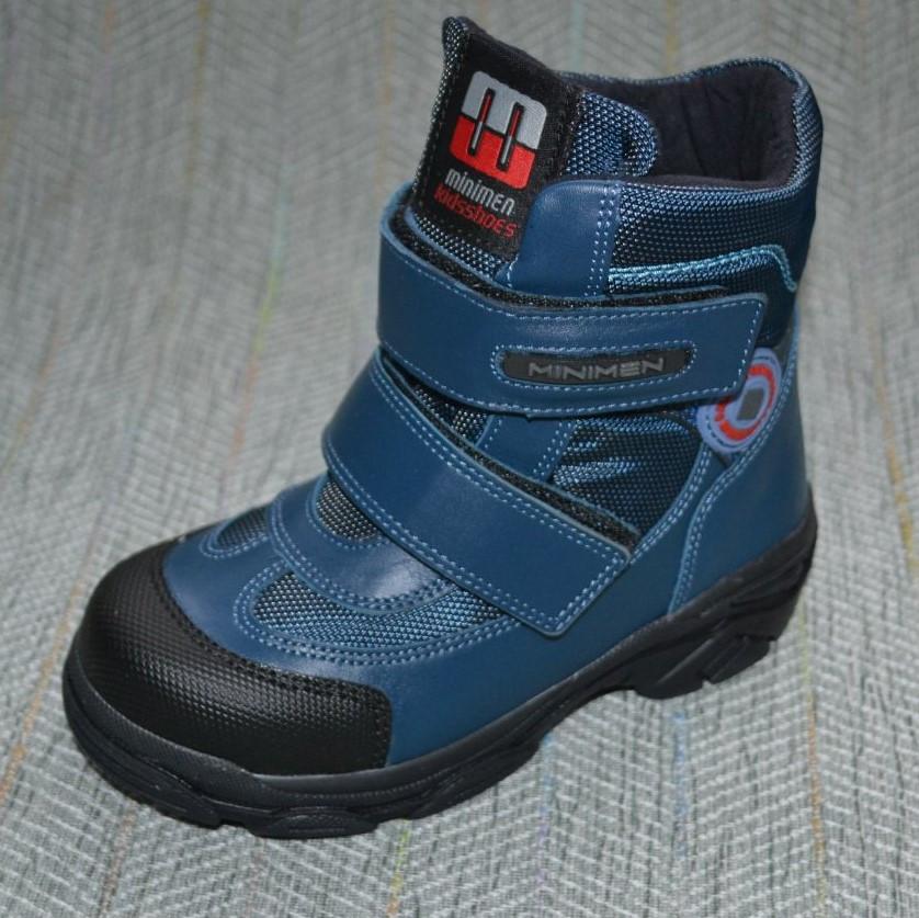 Ботиночки мальчик осень-зима, Minimen размер 26