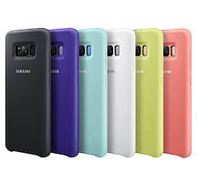 Оригинальный силиконовый чехол для Samsung Galaxy S8 G950