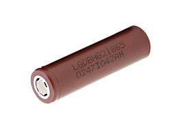 Аккумулятор Battery Li-ion LG 18650, 3,7V 3000mAh