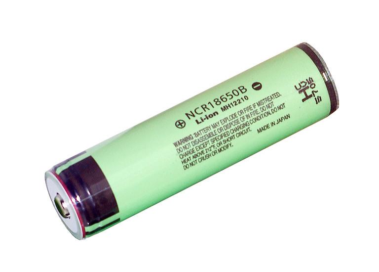 Аккумулятор Battery Li-ion Panasonic 18650, 3,7V 3400mAh с защитой