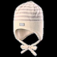 Зимняя шапка для девочки Lassie by Reima 718697 - 0110. Размер XXS, XS,  S и М.
