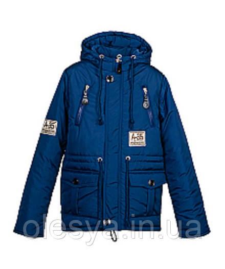 Модная осенняя куртка- парка на мальчика Размеры 30- 38