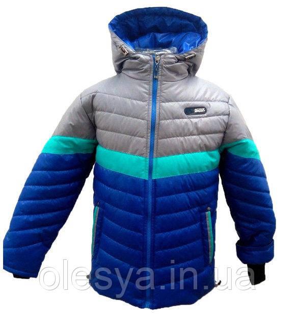 Осенняя куртка- парка на мальчика Размеры 26- 32
